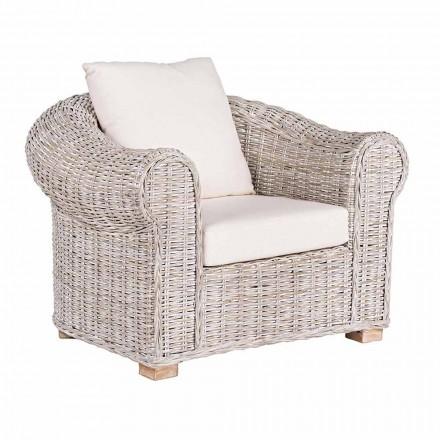 Etnische fauteuil voor indoor of indoor outdoor rotan Homemotion - Francioso