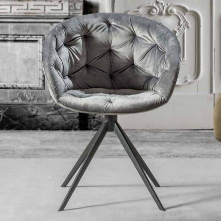 Moderne design fauteuil, met Capitonnè - Enea