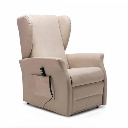 Eletric fauteuil, met wielen, 2 motoren, gemaakt in Italië - Daphne