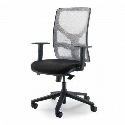 Executive high-back office fauteuil gemaakt in Italië Amelie