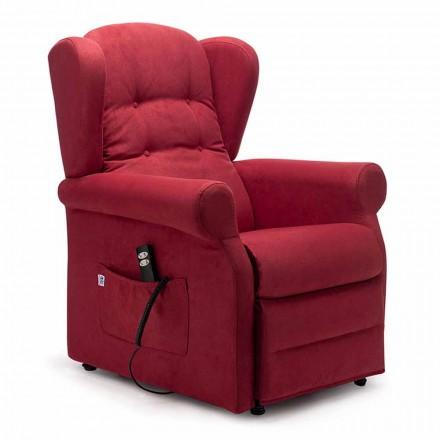 Riser fauteuil, met 2 motoren en wielen, gemaakt in Italië - Marlene