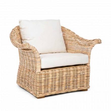 Homemotion - Fermin Ethnic Style Indoor of Indoor rotan fauteuil