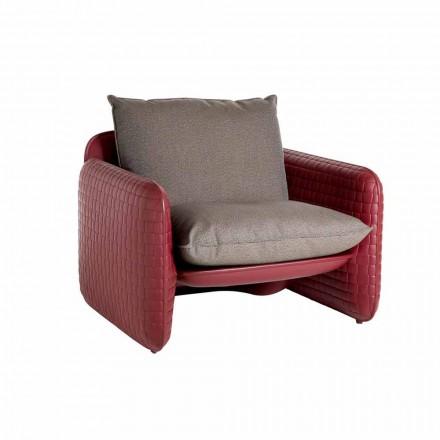 Lounge buitenstoel met waterdichte kussens - Mara Slide