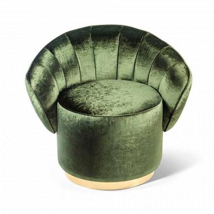 modern design fauteuil bekleed met stof Belle