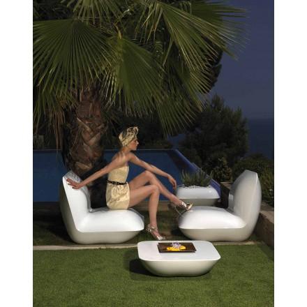 Moderne tuinfauteuil, gemaakt met polyethyleen Pillow van Vondom