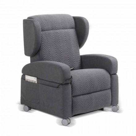Orthopedische fauteuil, Giglio, 4 motoren, gemaakt in Italië, modern design