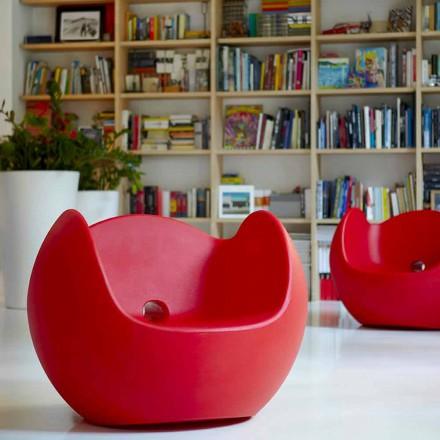 Schommelstoel voor tuin / design interieur Slide Blos, made in Italy