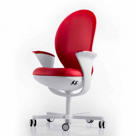 Office Executive fauteuil met leer of stof Bea Luxy