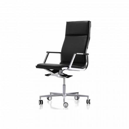 Ergonomische bureaustoel design met armen Nulite Luxy