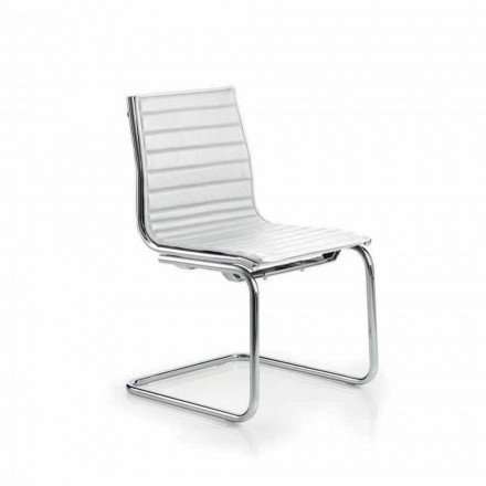 Office armchair zonder armleuningen modern design Light Luxy