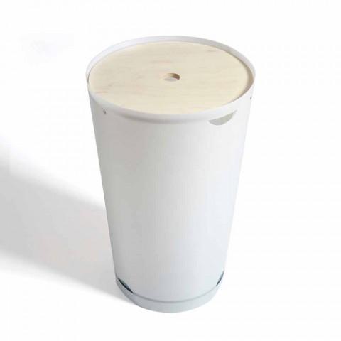 Ronde Design Wasmand.Wasmand Met Modern Design Container Marlis