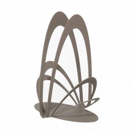 Design ijzeren bekerhouder handgemaakt, gemaakt in Italië - Futti