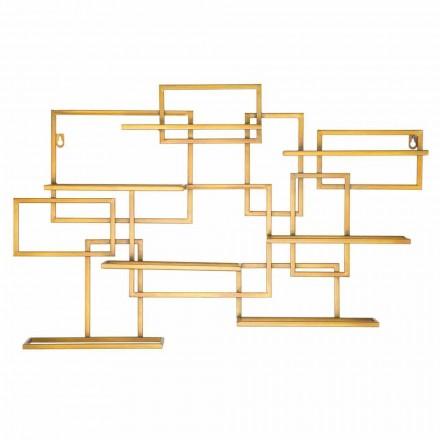 Design horizontale tafelfleshouder in ijzer - Berti