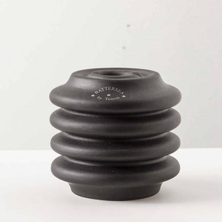 Kaarshouder in geglazuurde klei, H 95cm, Candelsea - Toscot