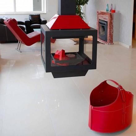 Portalegna van interieur met wiel in een modern geregenereerd leer Fabia