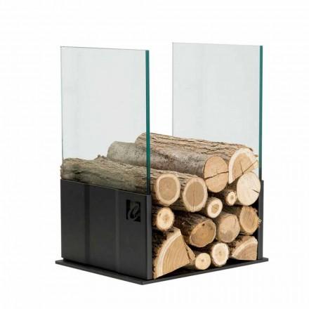 Portalegna glas en staal voor PVP Casa Camino