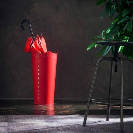 Ontwerp paraplustandaard in leder voor Paraplu thuis of op kantoor