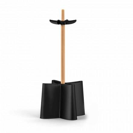 Paraplu ontwerp in natuurlijke beuken en polypropyleen Nurri