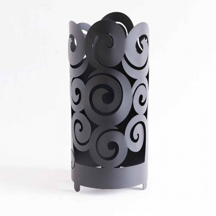 Paraplubak van modern design in gekleurd ijzer Made in Italy - Astolfo