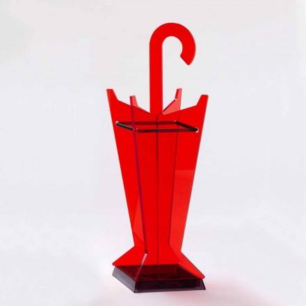 Modern design paraplubak in gekleurd methacrylaat Made in Italy - Daddy