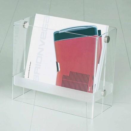 Magazine van modern design in duidelijke methacrylaat Tanko