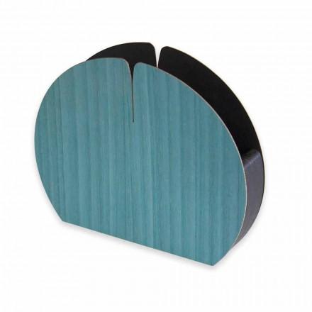 Moderne servethouder in natuurlijk hout gemaakt in Italië - Stan