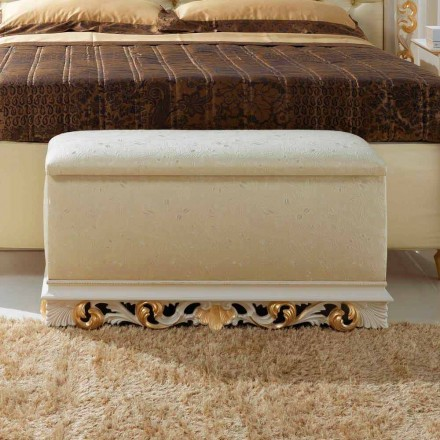 Poef bed container Zais klassiek design, made in Italy