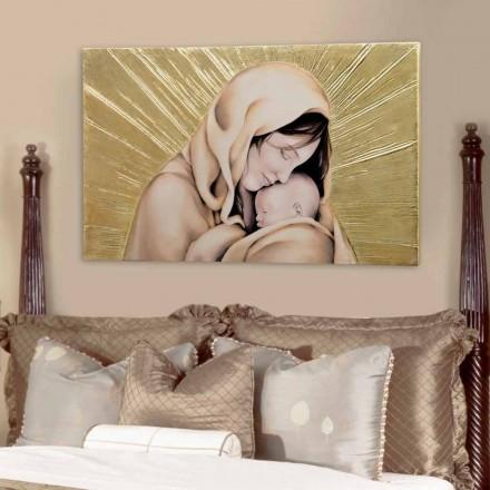 Handgemaakte Infinity Love Design-poster van Viadurini Decor