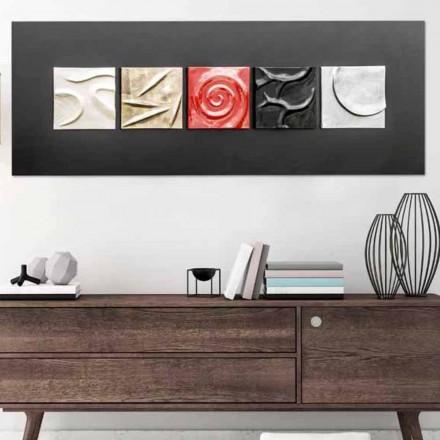 Met de hand geschilderd abstract ontwerp beeld Moma