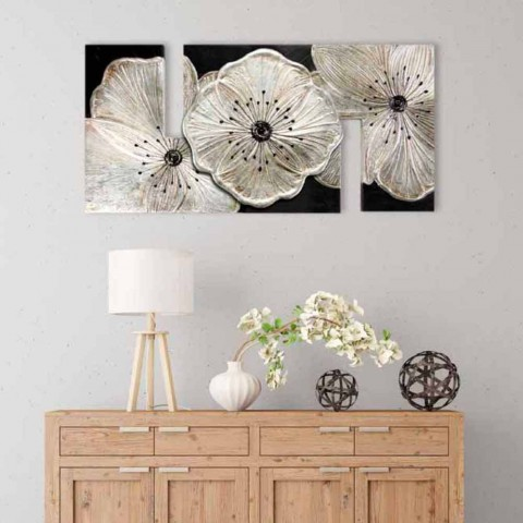 Afbeelding met Petunia Piccola Argento-bloemen van Viadurini Decor