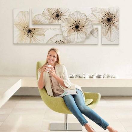 Modern bloemenraamwerk Petunia van Viadurini Decor made in Italy