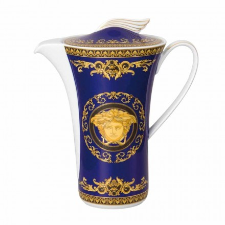 Rosenthal Versace Medusa Blue koffie in China voor 6 personen