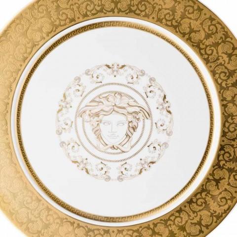 Welp Rosenthal Versace Medusa Gala Gouden Plaat placeholder 33cm porselein ME-65