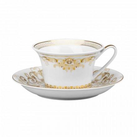 Rosenthal Versace Medusa Gala Cup ontwerp porselein thee