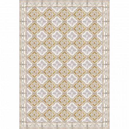 Tafelloper met kleurrijk patroonontwerp in pvc en polyester - Dorado