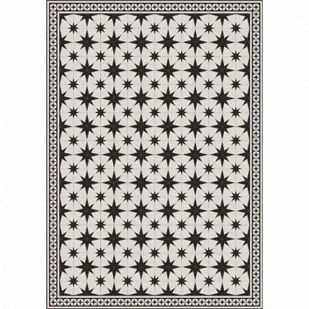 Design tafelloper in pvc en polyester rechthoekig patroon - Osturio