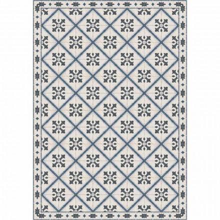 Tafelloper in PVC en polyester met modern patroon - Berimo