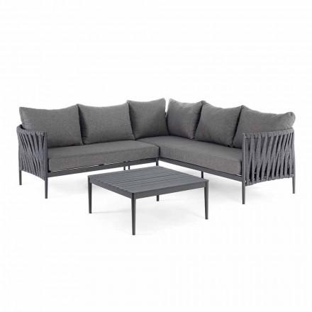 Corner Garden Design Lounge, Homemotion - Lucio verwijderbare kussens