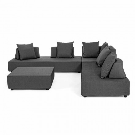 Modern Design Outdoor Corner Lounge in Homemotion Fabric - Benito