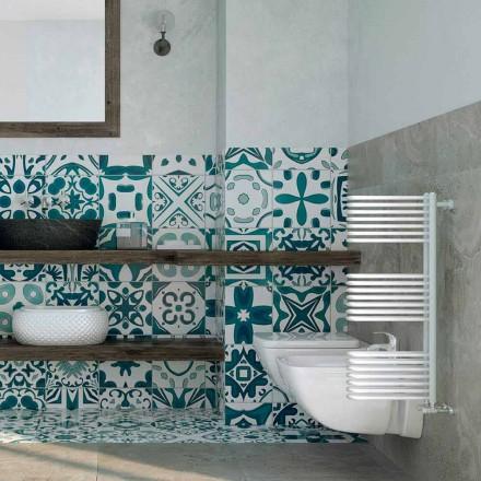 Handdoekverwarmer hydraulisch ontwerp White Corner Scirocco H