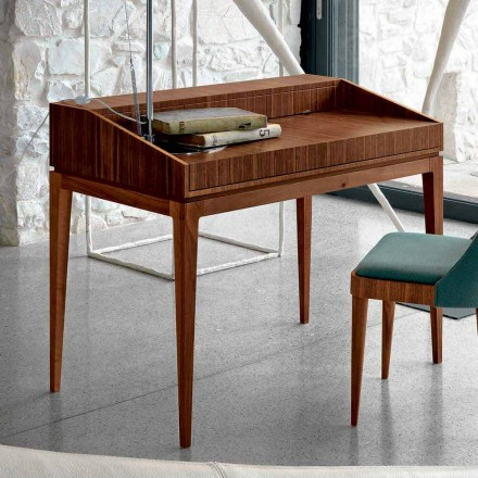 Schrijven van modern design in noten, L 105 x B 65 cm, Acario