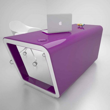 Ontwerpbureau in Solid Surface Ego Made in Italy