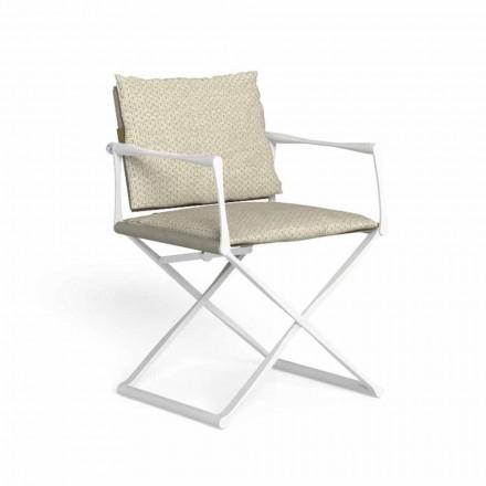 Opklapbare regiestoel voor buiten met luxe armleuningen - Riviera by Talenti