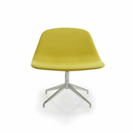 van modern design bureaustoel Llounge, gemaakt in Italië door Luxy