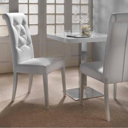 Design gestoffeerde stoel met tufted werken - Diana