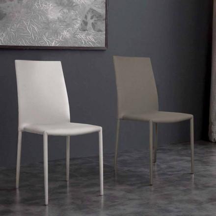 Eco-lederen stoel desio modern design voor keuken of eetkamer