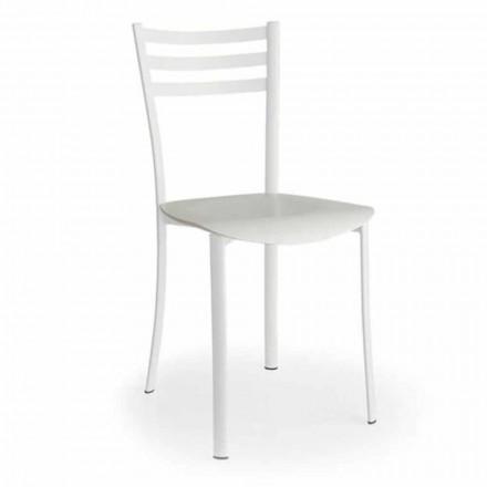 Moderne stoel met verwisselbare zitting in eikenhout gemaakt in Italië 2 stukken