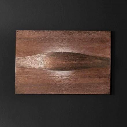 Selene Art & Light applique met de hand gemaakte geweven panelen