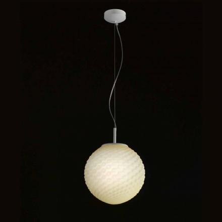 Selene Domino chandelier geblazen glazen handgemaakte Ø27 H 27 / 140cm