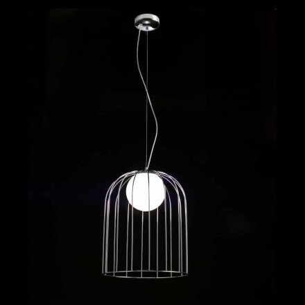 Selene Kluvì hanglamp geblazen Ø33 H 41/150 cm glazen